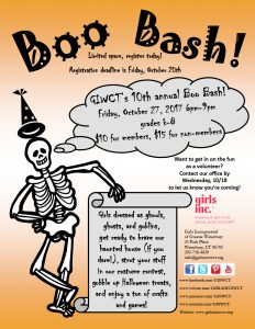 BOO BASH @ Girls Incorporated of Greater Waterbury