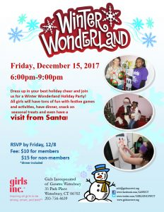 WINTER WONDERLAND @ Girls Incorporated of Greater Waterbury